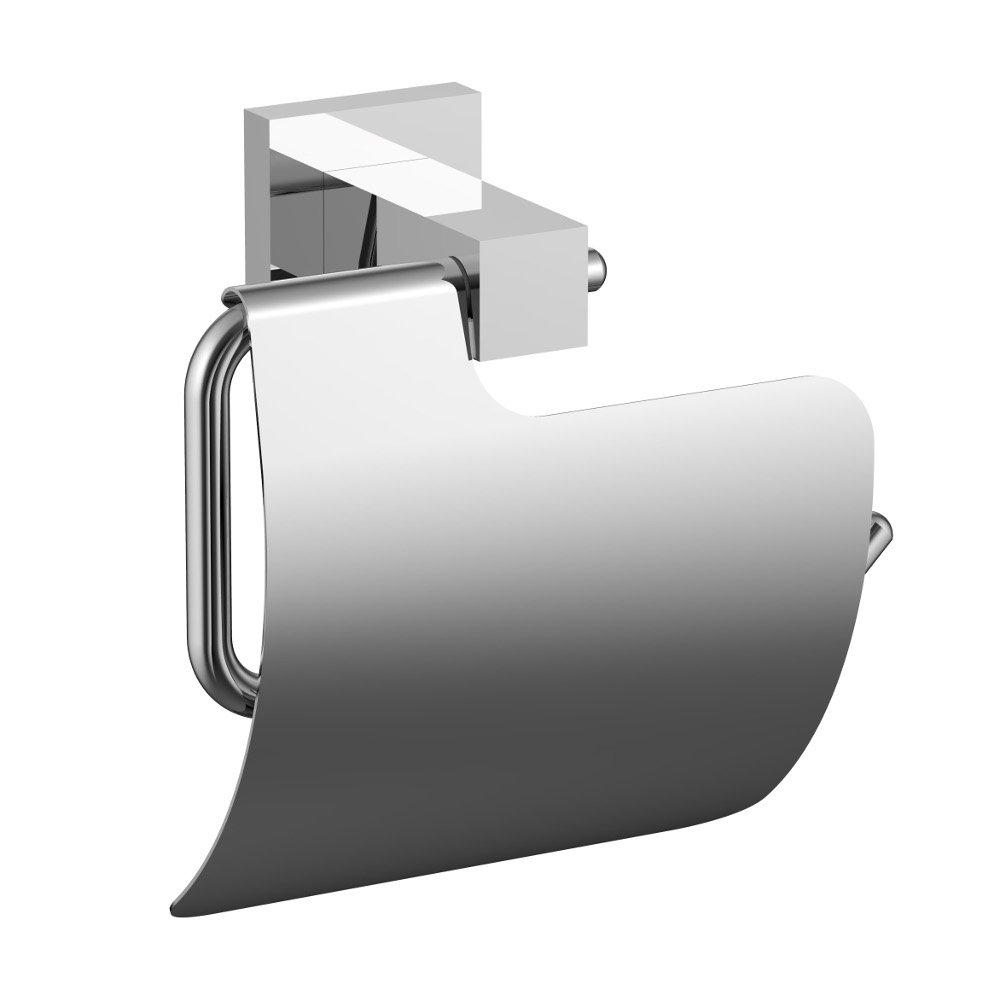 Eviva Toilet Paper Holdy Holder Brushed Nickel Bathroom Accessories