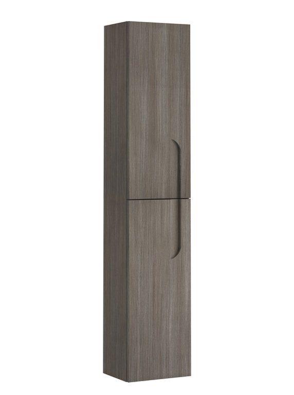 "EVCB23 12DASH Vitale A Main - Eviva Vitta 12"" Ash Modern Bathroom Linen Side Cabinet"