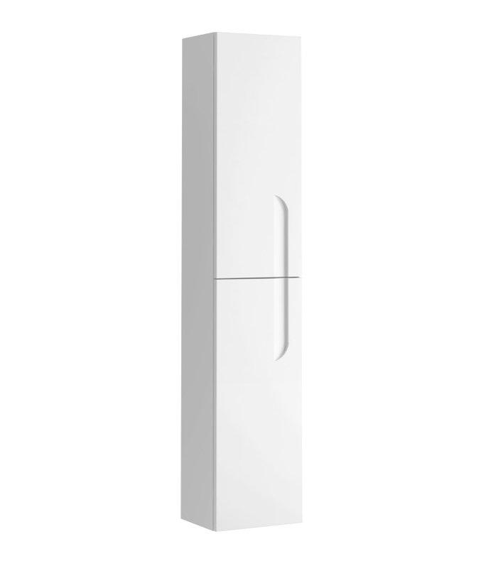 """EVCB23 12WH Vitale A Main - Eviva Vitta 12"""" White Modern Bathroom Linen Side Cabinet"""