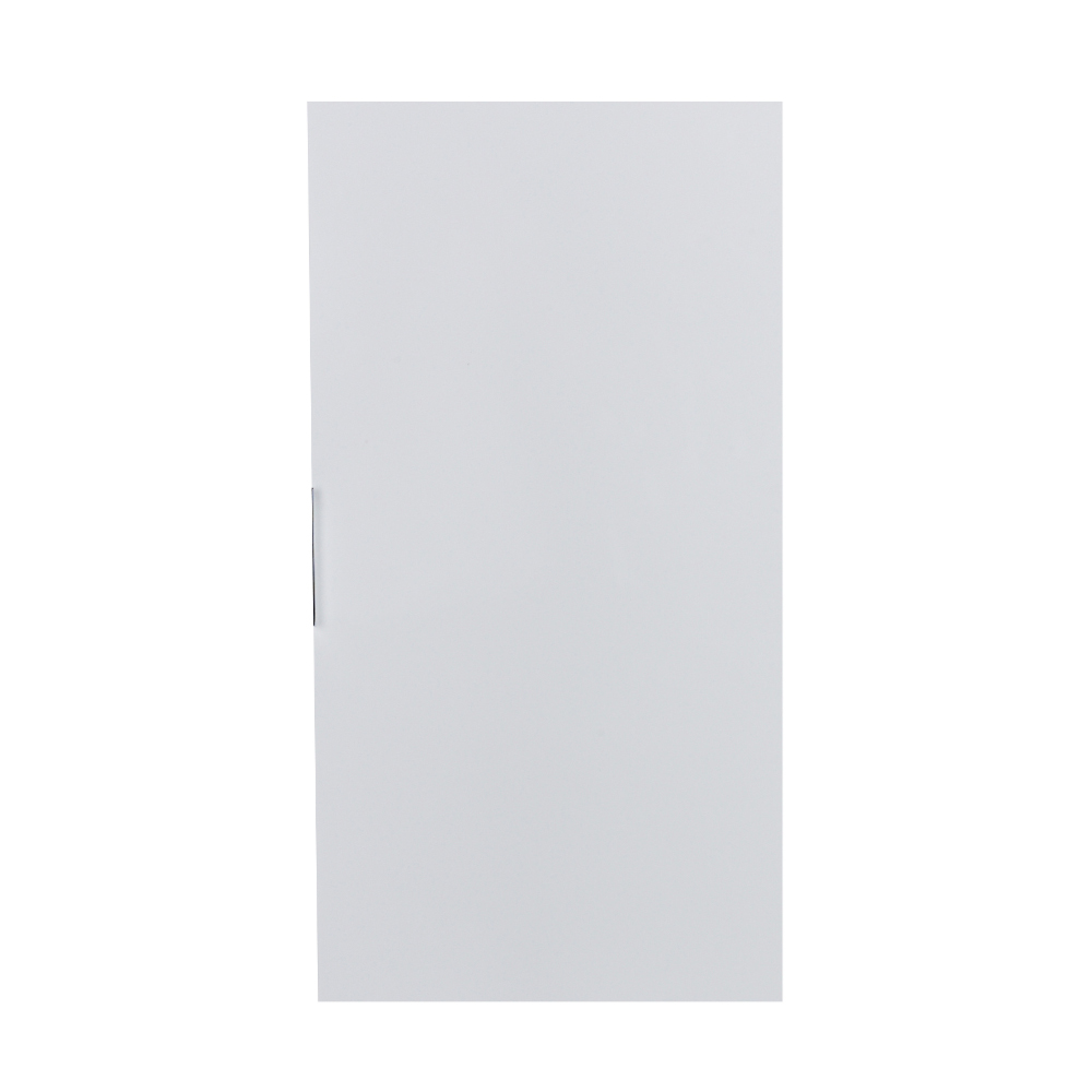 """EVCB524 13WH A Main - Eviva Cup 13"""" White Modern Wall Mount Side Cabinet Storage"""