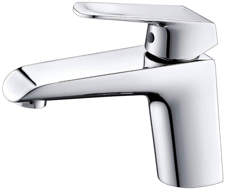 EVFT1162BN A Main - EVIVA Lotus Single Handle Bathroom Sink Faucet (Brushed Nickel)
