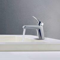 EVFT1162CH A 01 202x202 - EVIVA Lotus Single Handle Bathroom Sink Faucet (Chrome)