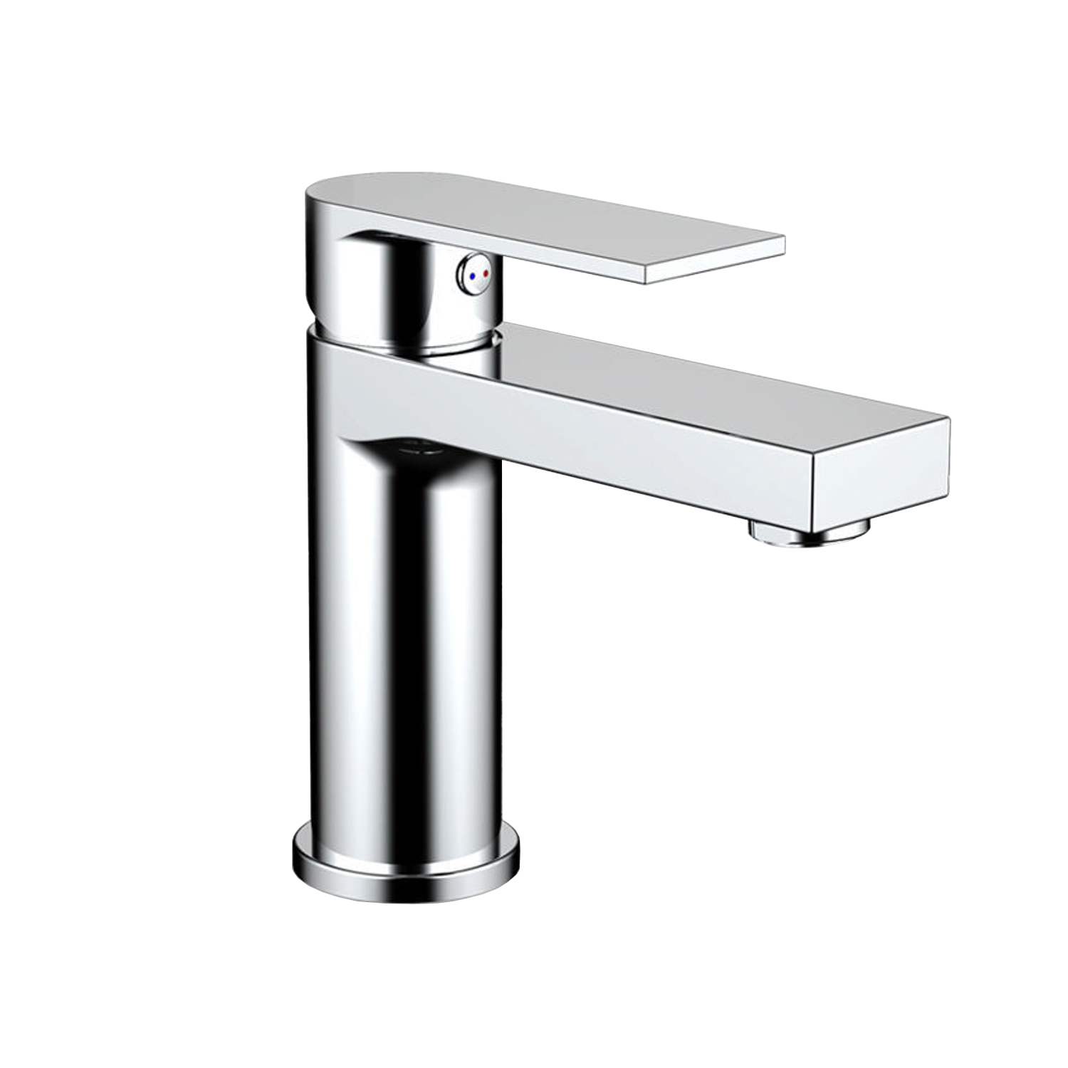 EVFT1336BN A Main - Eviva Pure Single Handle Bathroom Sink Faucet in Brushed Nickel