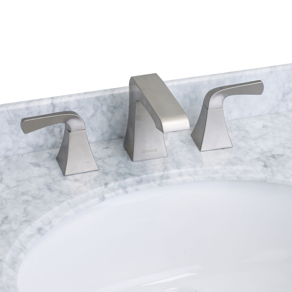 EVFT277BN A Main - EVIVA Butterfly Widespread (2 Handles) Bathroom Faucet (Brushed Nickel)