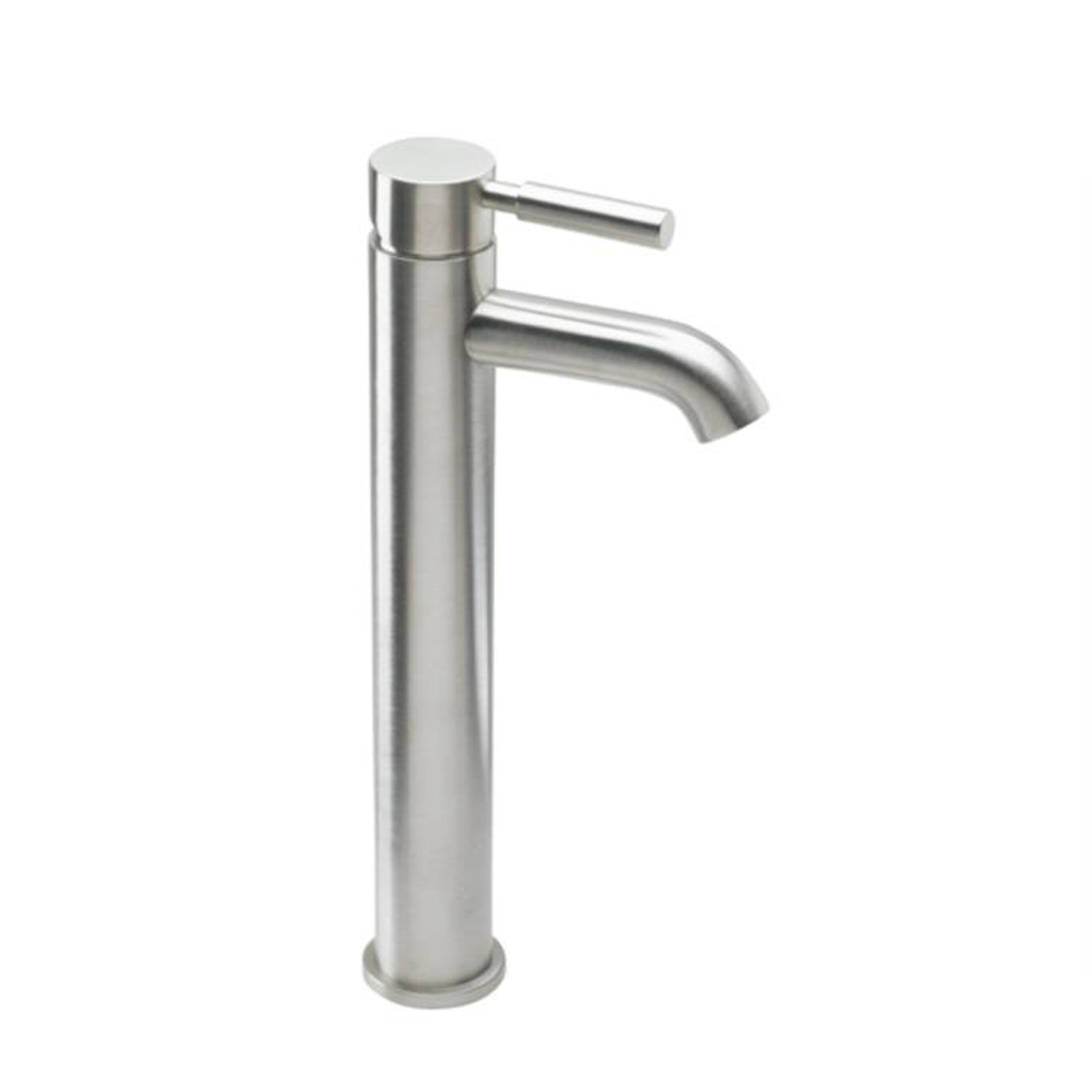 Eviva Ramo Vessel Mount Single Hole One Handle Bathroom Faucet in ...