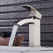 EVFT427BN A 01 202x202 - Eviva Pure Single Hole One Handle Bathroom Faucet in Brushed Nickel Finish