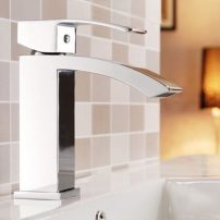 EVFT427CH A 01 202x202 - Eviva Pure Single Hole One Handle Bathroom Faucet in Chrome Finish