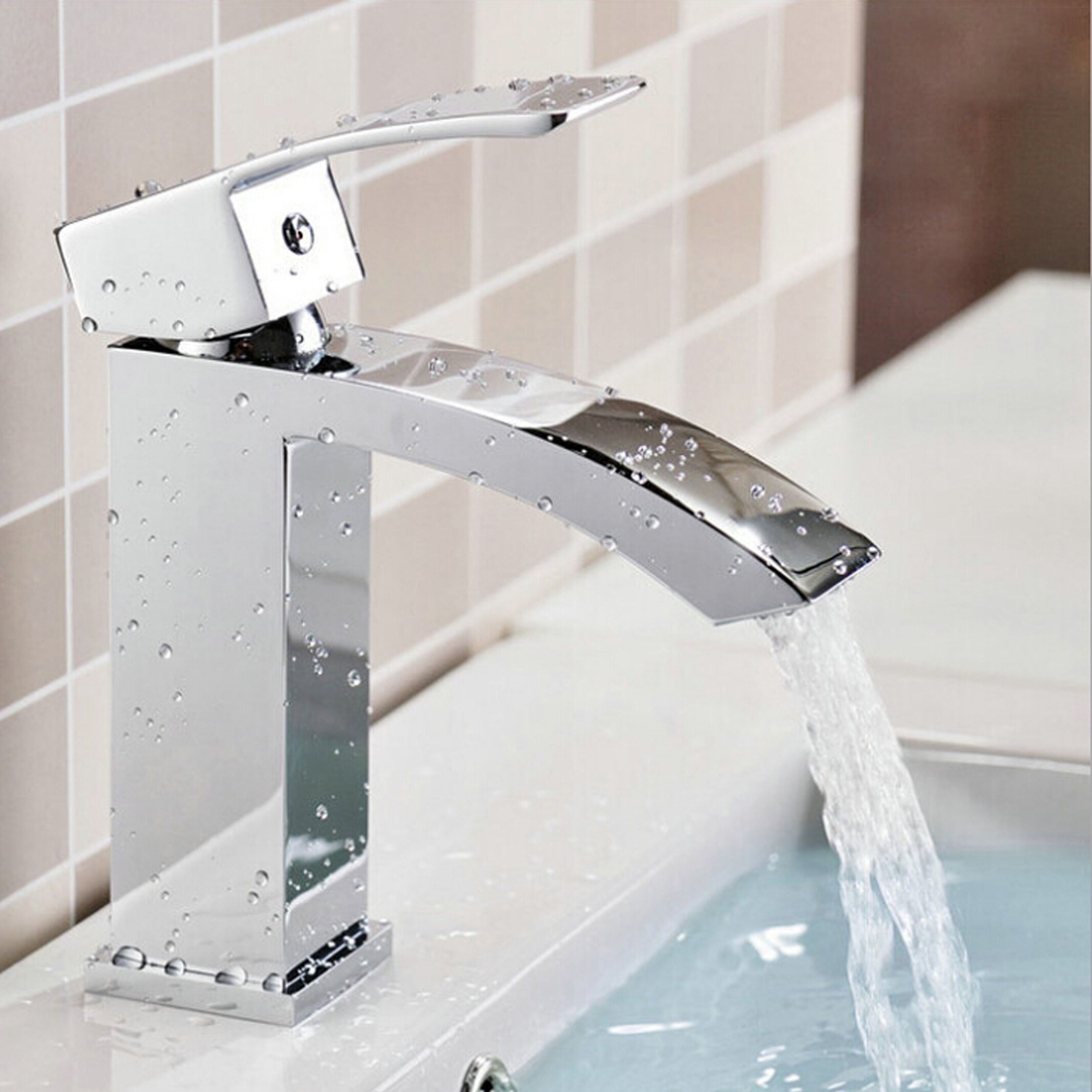 EVFT427CH A Main - Eviva Pure Single Hole One Handle Bathroom Faucet in Chrome Finish