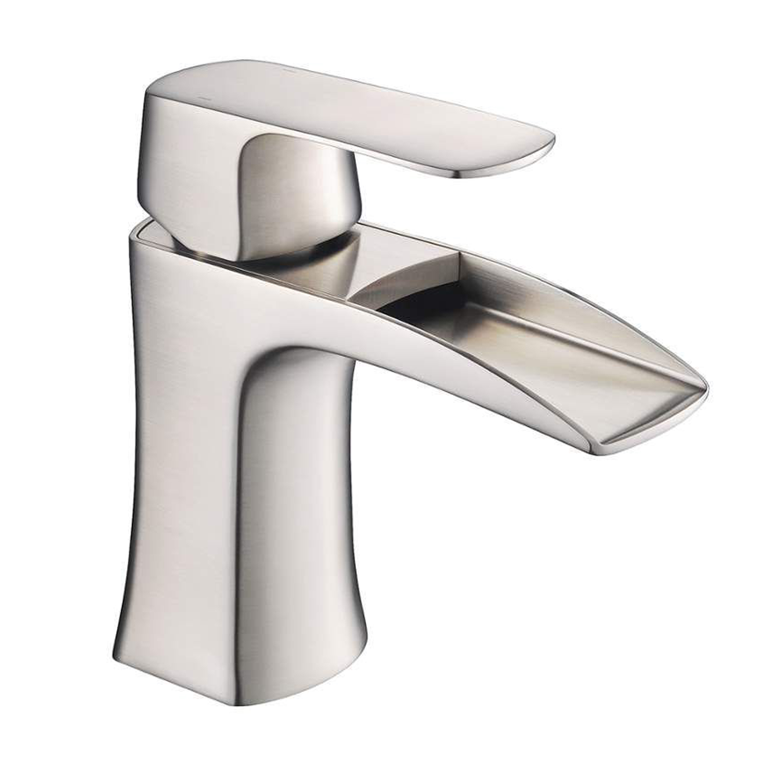 ... One Handle Bathroom Faucet In Brushed Nickel Finish. EVFT450BN_A_Main