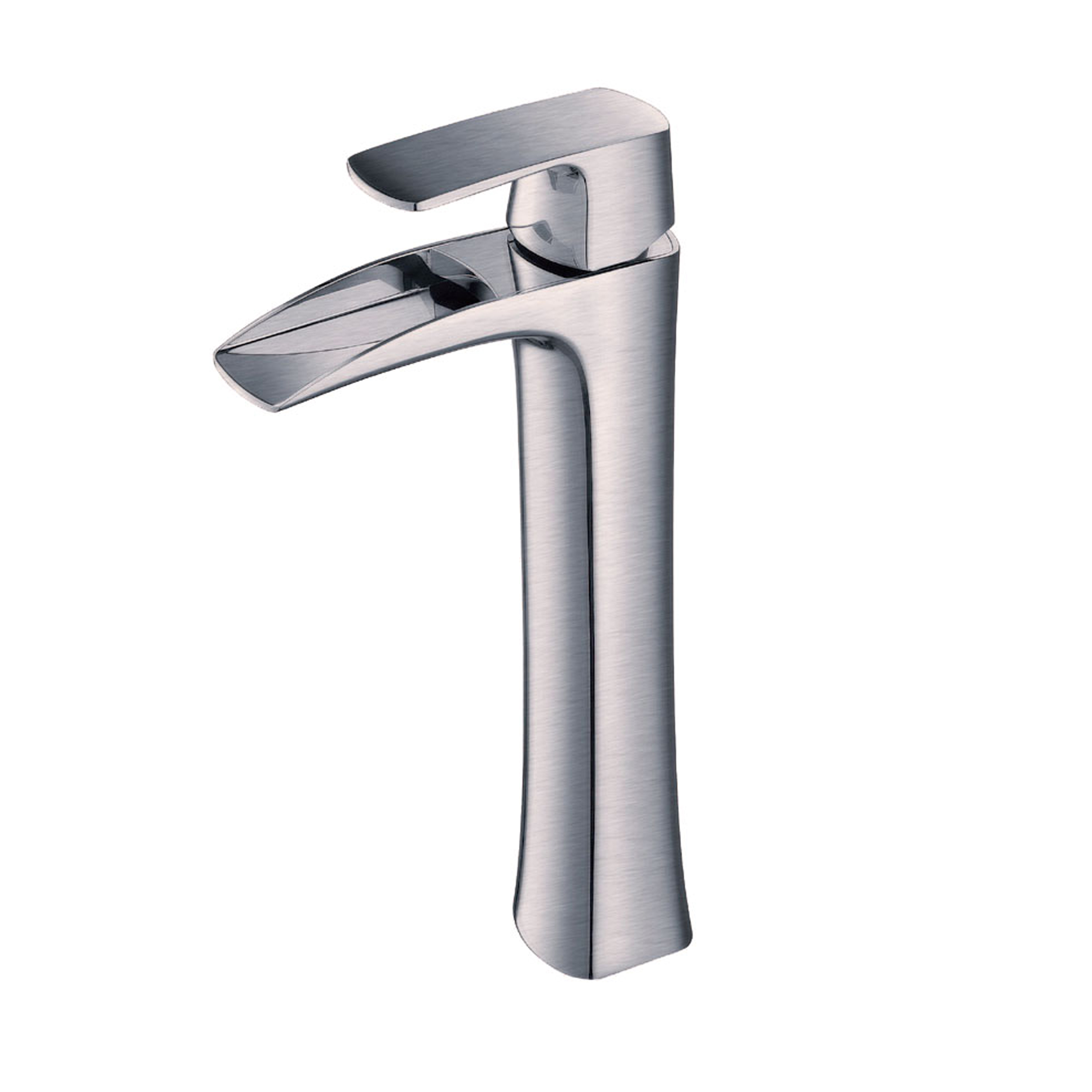 Eviva Lulu Vessel Mount Single Hole One Handle Bathroom Faucet in ...