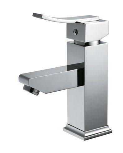 EVFT97BN A Main - EVIVA Bevera Single Handle (Lever) Bathroom Sink Faucet (Brushed Nickel)