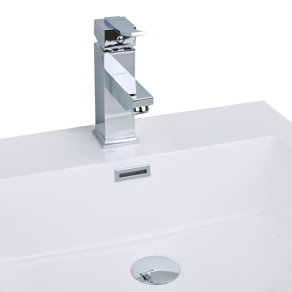 EVFT97CH A Main - EVIVA Bevera Single Handle (Lever) Bathroom Vanity Sink Faucet (Chrome)