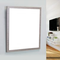 "EVMR 24MOK SPN A 01 202x202 - Eviva Reflection 24"" Medium Oak Full Framed Bathroom Wall Mirror"