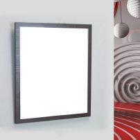 "EVMR 24WG SPN A 01 202x202 - Eviva Reflection 24"" Wenge Full Framed Bathroom Wall Mirror"