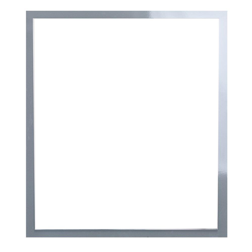 "EVMR 32GR A Main - Eviva Reflection 31.5"" Grey Full Framed Bathroom Wall Mirror"