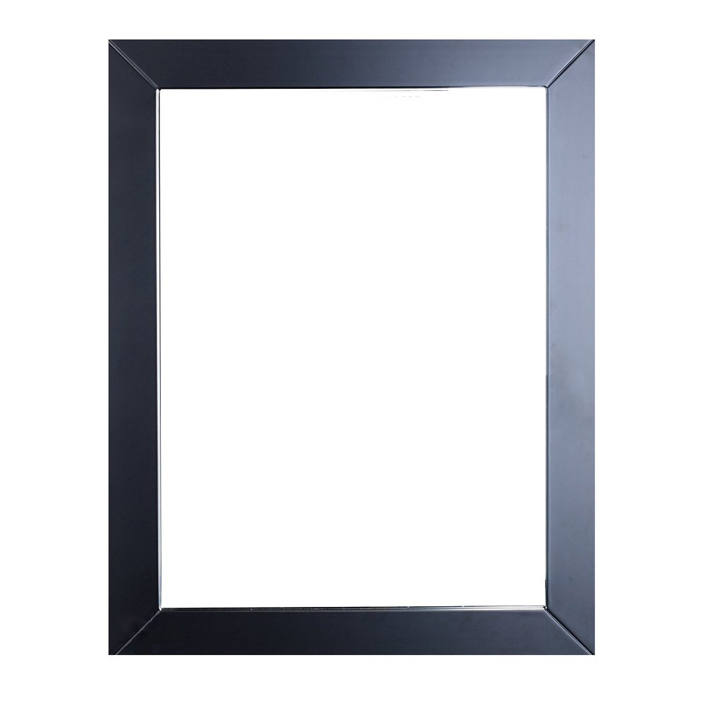 Eviva Sun 24 Espresso Framed Bathroom Wall Mirror Decors Us