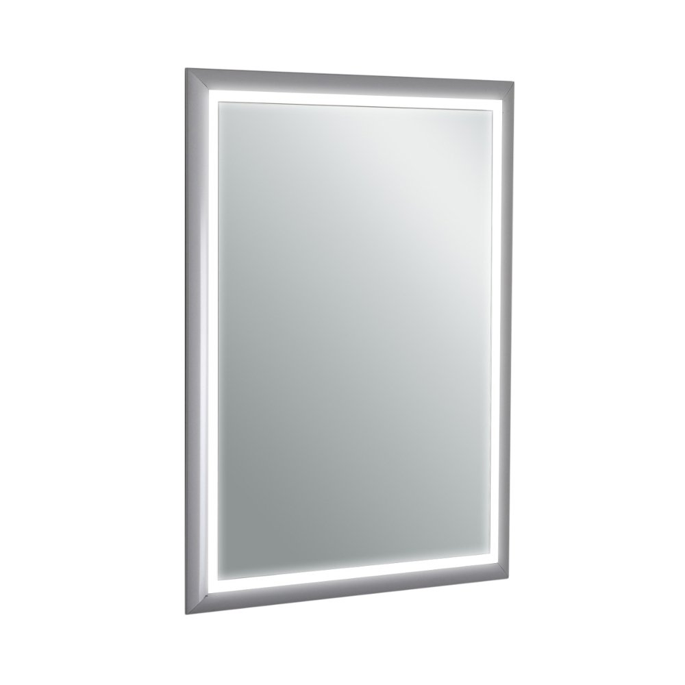 Vanity Lights Mounted On Mirror : Eviva EVMR18-20X28-LED Sedona Wall Mounted Lighted Bathroom Vanity, Backlit LED Mirror with ...