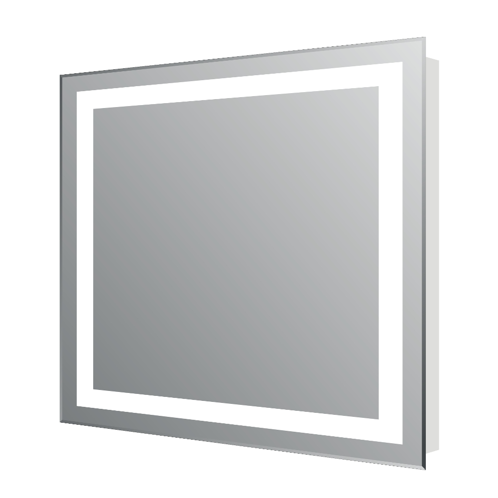 EVMR34 24X30 LED A Main - Eviva EVMR34-24X30-LED Lite Wall Mounted Modern Bathroom Vanity Backlit Lighted LED Mirror