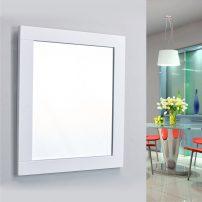 "EVMR412 36X30 WH A 01 202x202 - Eviva Aberdeen 36"" White Framed Bathroom Wall Mirror"