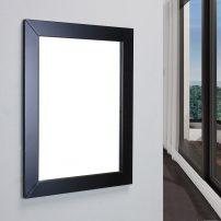 EVMR514 24X30 ES A 01 202x202 - Eviva New York Bathroom Vanity Mirror Full Frame Espresso 24X31 Wall Mount