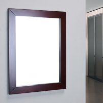 EVMR514 24X30 TK A 01 202x202 - Eviva New York Bathroom Vanity Mirror Full Frame Teak 24X31 Wall Mount