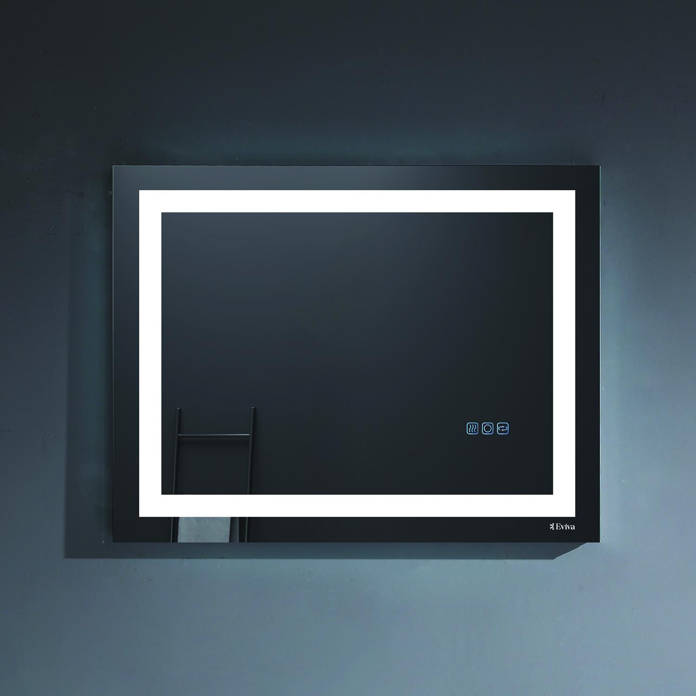 Eviva EVMR52-31X24-LED Deco Piece Wall Mounted Lighted Bathroom ...