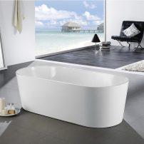 EVTB6214 59WH A 01 202x202 - Eviva Chloe Freestanding 59 in. Acrylic Bathtub in White