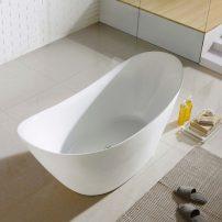 "EVTB6227 68WH A 01 202x202 - Eviva Lulu Free Standing 68"" Acrylic Bathtub"