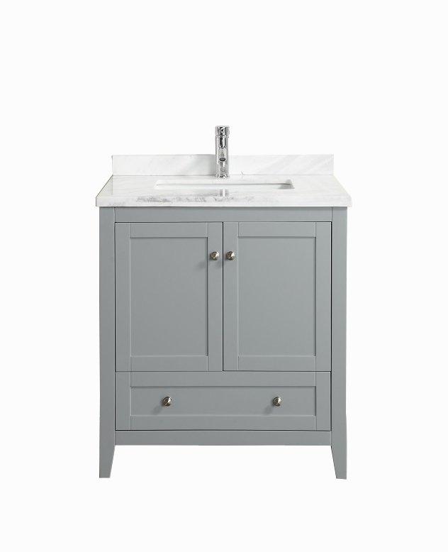 bathroom vanity grey