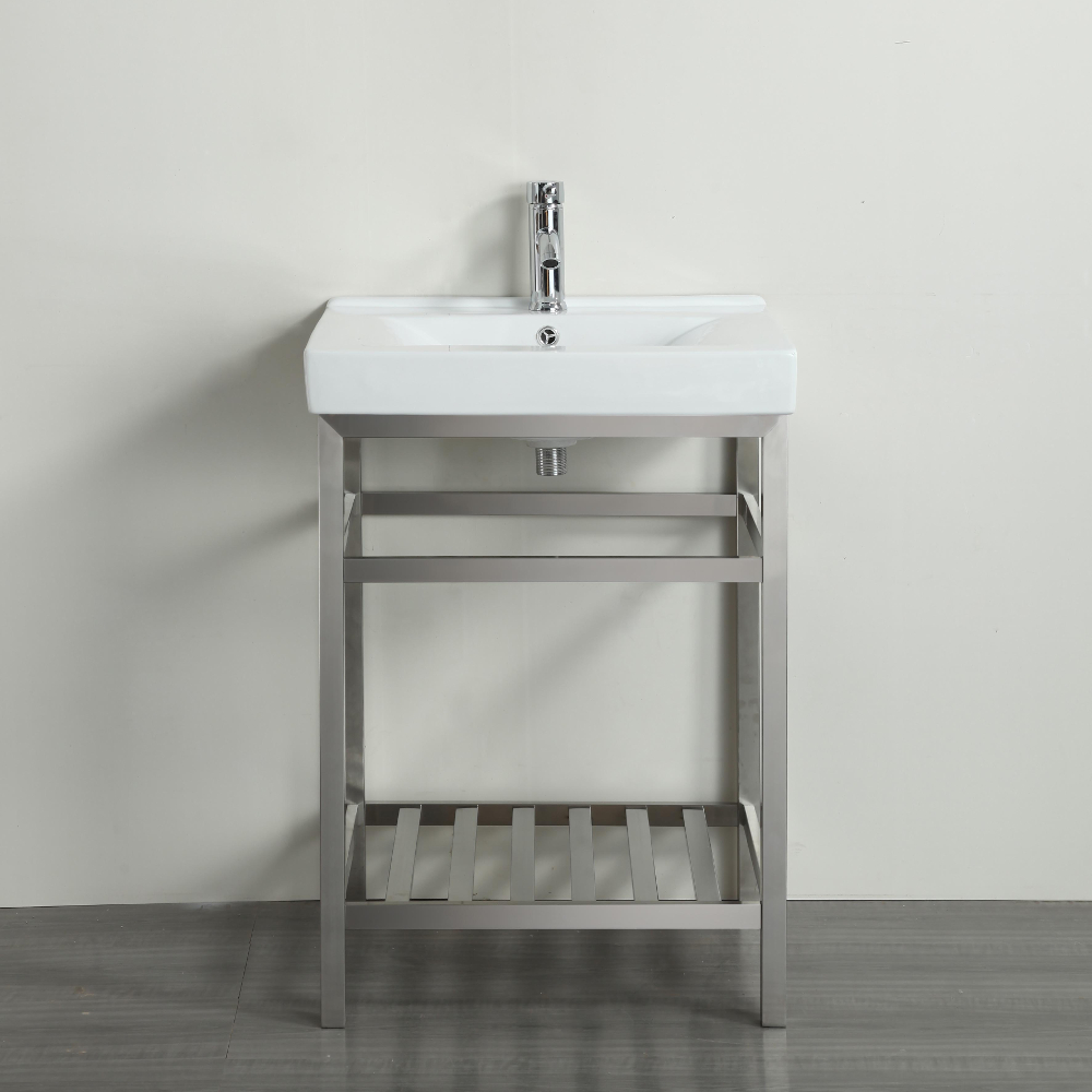 Stainless steel bathroom vanity stainless steel bathroom Stainless steel bathroom vanities