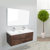 "EVVN12 DS 48RSWD WM A 01 202x202 - Eviva Smile 48"" Rosewood Modern Bathroom Vanity Set with Integrated White Acrylic Double Sink Wall Mount"
