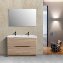 "EVVN12 DS 48WHOK FS A 01 202x202 - Eviva Smile 48"" White-Oak Modern Bathroom Vanity Set with Integrated White Acrylic Double Sink"