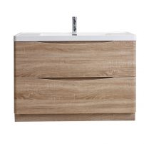 "EVVN12 SS 48WHOK FS A Main 202x202 - Eviva Smile 48"" White Oak Modern Bathroom Vanity Set with Integrated White Acrylic Sink"