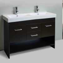 EVVN127 48DE A 01 202x202 - Totti Gloria 48 inch Espresso Double Sink Bathroom Vanity with White Integrated Double Porcelain Sink