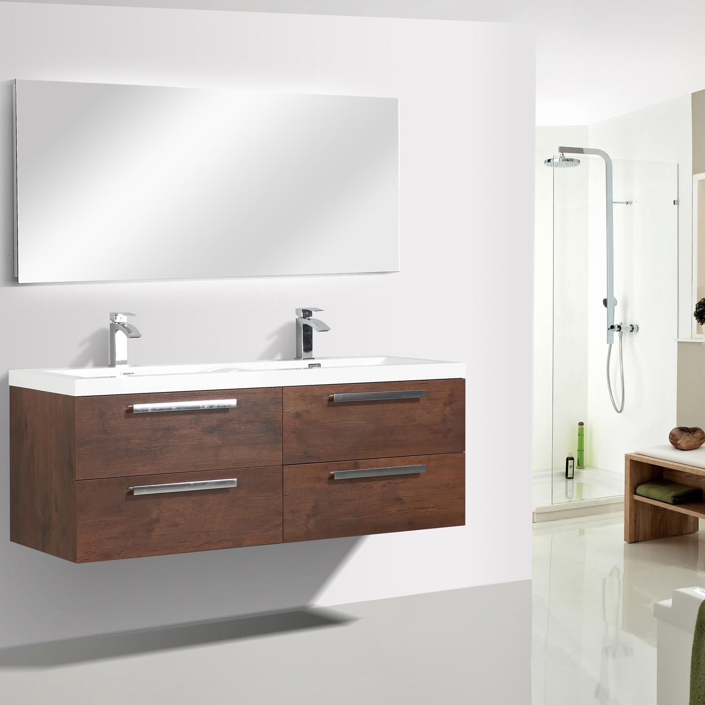 Eviva Surf 57 Rosewood Modern Bathroom