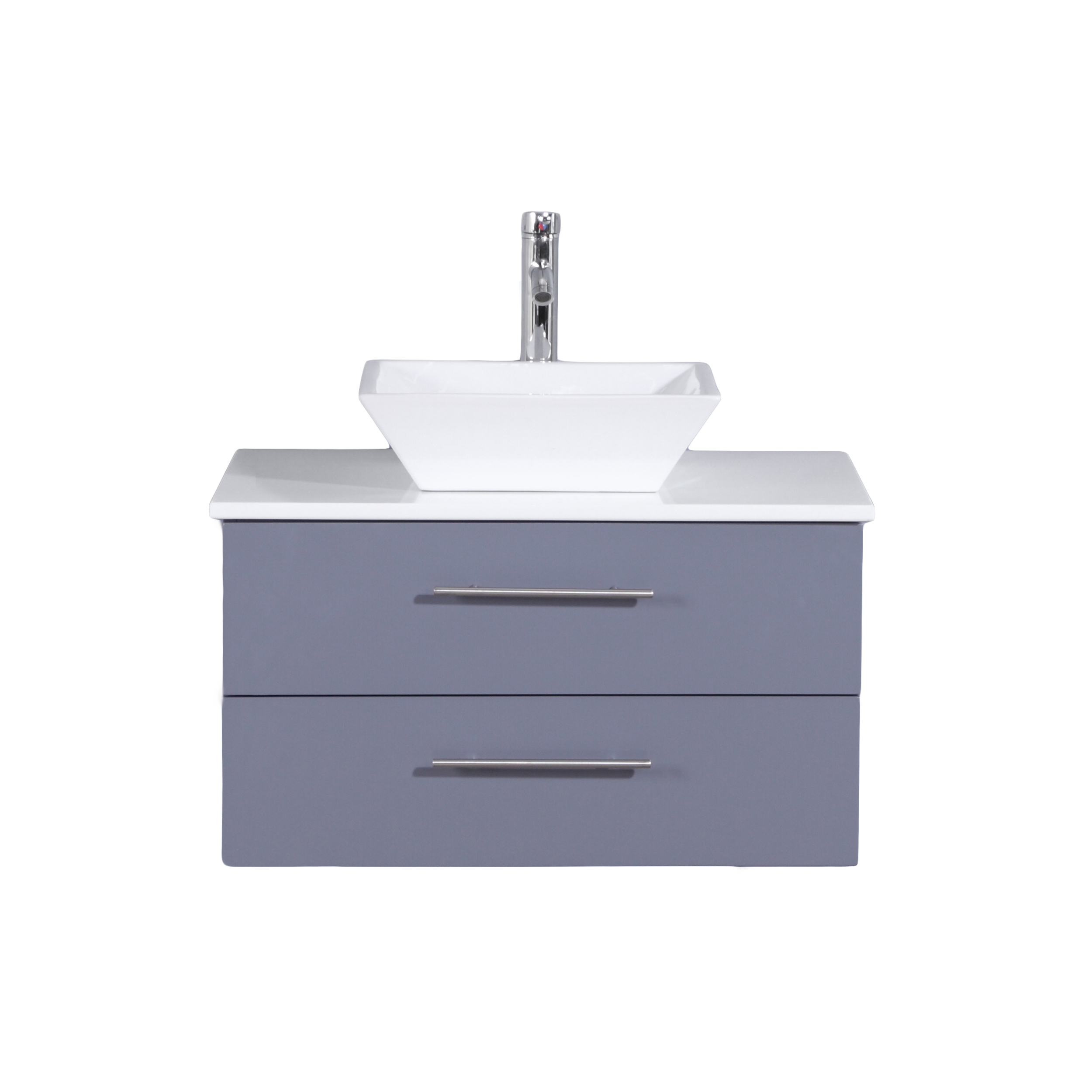 Fantastic Totti Wave 24 Inch Grey Modern Bathroom Vanity With Counter Top And Sink Download Free Architecture Designs Ogrambritishbridgeorg