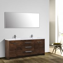 "EVVN1900 8 84RSWD A 01 202x202 - Eviva Lugano 84"" Rosewood Modern Bathroom Vanity with White Integrated Acrylic Double Sink"