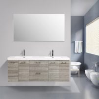 EVVN2100 84ASH DS A 01 202x202 - Eviva Luxury 84 inch Ash bathroom vanity with integrated acrylic sinks