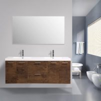 EVVN2100 84RSWD DS A 01 202x202 - Eviva Luxury 84 inch Rosewood bathroom vanity with integrated acrylic sinks