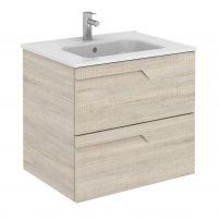 "EVVN23 24BG Vitale A Main 202x202 - Eviva Vitta 24"" Beige Modern Bathroom Vanity with White Integrated Porcelain Sink"