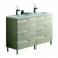 "EVVN23 48MP DS Vitale A Main 202x202 - Eviva Vitta 48"" Maple Modern Bathroom Vanity with White Integrated Porcelain Sink"