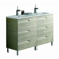"EVVN23 48MP DS Vitale A Main 202x202 - Eviva Vitta 48"" Maple Modern Bathroom Vanity with White Integrated Porcelain Sink"