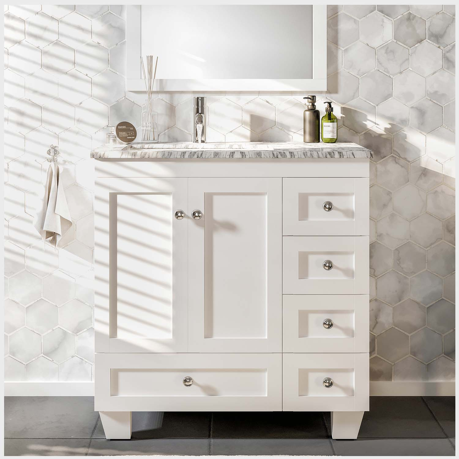 small cherry bathroom vanity contemporary white sets