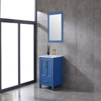 EVVN413 24BLU A 01 202x202 - Eviva Navy 24 inch Deep Blue Bathroom Vanity with White Carrera Counter-top and White Undermount Porcelain Sink