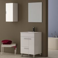 "EVVN521 24WH A Main 202x202 - Eviva Cup 24"" White Modern Bathroom Vanity with White Integrated Porcelain Sink"