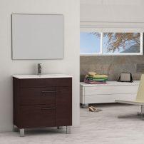 "EVVN521 32WG A 01 202x202 - Eviva Cup 31.5"" Wenge (Dark Brown) Modern Bathroom Vanity with White Integrated Porcelain Sink"