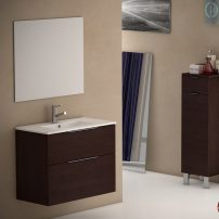 "EVVN523 28WG A 01 202x202 - Eviva Galsaky 28"" Wenge Modern Bathroom Vanity Wall Mount with White Integrated Porcelain Sink"