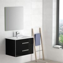 "EVVN527 28BL A 01 202x202 - Eviva Astoria 28"" Black Modern Bathroom Vanity with White Integrated Porcelain Sink"