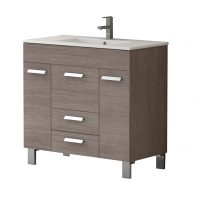 "EVVN528 36MOK A Main 202x202 - Eviva Venus 36"" Medium Oak Modern Bathroom Vanity with White Integrated Porcelain Sink"
