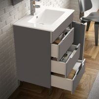 "EVVN530 28GR A 01 202x202 - Eviva Geminis 28"" Grey Modern Bathroom Vanity with White Integrated Porcelain Sink"